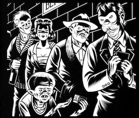 Skin Deep -copyright 2012 Charles Burns